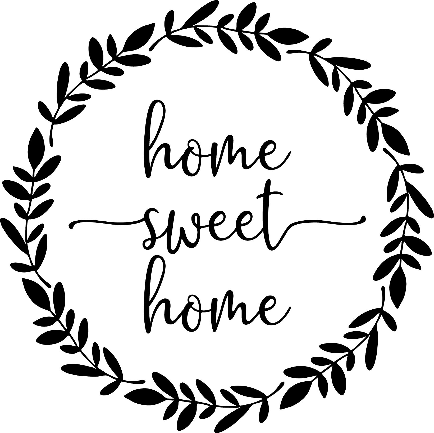 It's just a photo of Slobbery Home Sweet Home Printable